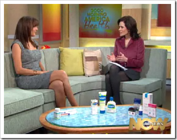 Rosacea features on ABC-TV's Good Morning America Health